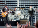 Pop Band U2 at Hampden Park Glasgow  June 2005