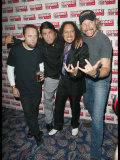 Austin Hargrave  Metallica  Kerrang Awards  Royal Lancaster Hotel  London  August 2003