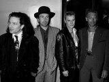 Irish Pop Group U2 at the British Rock Industry Awards  1988