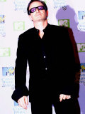 MTV Music Awards in Ireland U2 Singer Bono  November 1999