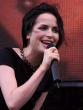 Singer Andrea Corr at the Party in the Park at Hyde Park for the Princes Trust  July 1999
