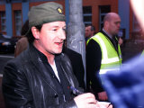 U2 Frontman Bono at the Hot Press Awards in Belfast at the BBC  April 2002