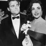 Elizabeth Taylor with Husband Mike Todd