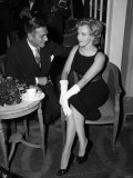 Marilyn Monroe with Laurence Olivier  July 1956