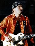 The Edge Real Name David Evans of U2 Pop Group  1993