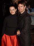 Tom Cruise and Spanish Actress Penelope Cruz Arrive at Premiere of Vanilla Sky  January 2002