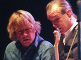 Francis Rossi and Rick Parfitt of Status Quo in the Clyde Auditorium  October 1999