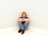 American Rock Star Jon Bon Jovi at His Home in New Jersey  New York  March 2004
