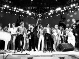 Live Aid Concert for the Feed the World Campaign for the Starving Millions in Africa  July 1985