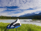 Tent  Kootenay National Park  British Columbia  Canada