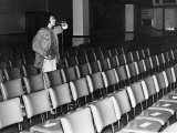 David Essex Checking out the Sound System in a Theatre at the Start of a 52 Date Tour  October 1976