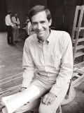 Anthony Perkins During Rehearsals for the Male Animal  June 1968