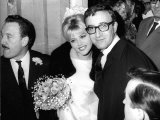 Britt Ekland Swedish Model with Her Fomer Husband Peter Sellers