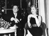 Laurence Olivier and Marilyn Monroe