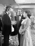 Omar Sharif with Princess Margeret at the Premier of Mackennas Gold  April 1969