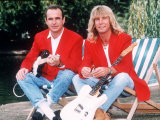 Status Quo Rock Band Members Rick Parfitt and Francis Rossi