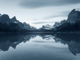 Lake Maligne  Jasper National Park  Alberta  Rockies  Canada