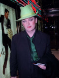 Boy George Attending the Premiere of in and out Staring Kevin Kline  January 1998