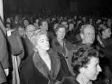 Marilyn Monroe at the Royal Court Theatre  November 1956