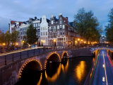 Holland  Amsterdam  Keizersgracht and Leidesegracht Canals