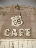 USA  Illinois  Route 66  Litchfield Route 66 Cafe