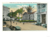 Binghamton  New York - Exterior View of Court House