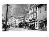 Juneau  Alaska - View of Franklin Street