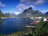 Norway  Fishing Village of Reine  Lofoten Islands  Nordland