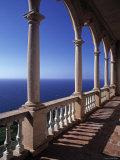 Verandah of Mansion  Son Marroig  Majorca  Spain