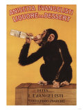 Italy - Anisetta Evangelisti Liquore da Dessert Promotional Poster