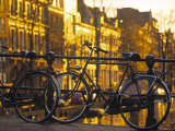 Bikes  Amsterdam  Holland