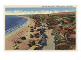 Laguna Beach  California - Aerial of Crystal Cove