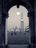St Mark's Basilica  St Mark's Square  Venice  Italy