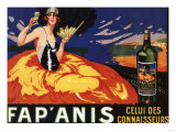 France - Fap&#39;Anis Celui Des Connaisseurs Advertisement Poster