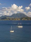 Caribbean  St Kitts and Nevis  St Kitts  Frigate Bay and the Southeast Peninsula
