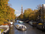 Holland  Amsterdam  Prinsengracht  Westerkerk Church