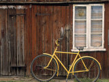 Wooden House and Bike  Sandhamn Island  Sweden