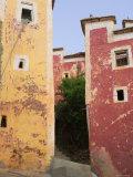 North Africa  Morocco  Anti Atlas  Near Tafraoute  Tagoudiche Berber Village