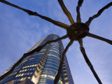 Japan  Honshu  Tokyo  Roppongi Hills  Mori Tower and Maman Spider Sculpture