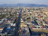 View over Mexico City  Mexico