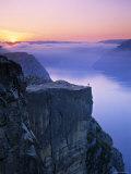 Preikestolen  Lysefjorden  Norway