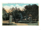 Binghamton  New York - Ross Park Entrance View