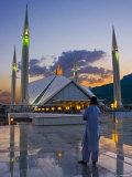 Faisal Mosque  Islamabad  Pakistan