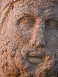 Eastern Turkey  Adiyaman  Nemrut Dagi National Park  West Terrace  Colossal Head of Hercules