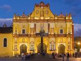 San Cristobel Cathedral  San Cristobal de Las Casas  Chiapas Province  Mexico