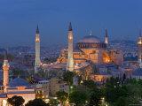Aya Sofya Sultanahmet  Unesco World Heritage Site  Istanbul  Turkey