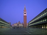 St Mark&#39;s Basilica  St Mark&#39;s Square  Venice  Italy