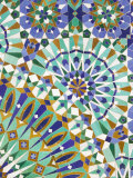 Tile Detail  Hassan II Mosque  Casablanca  Atlantic Coast  Morocco  North Africa