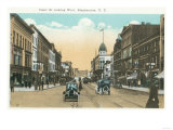 Binghamton  New York - Western View of Court Street