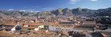 Skyline of Cusco  Peru